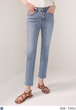 [BOTTOM] REFREE WASHING DENIM PANTS