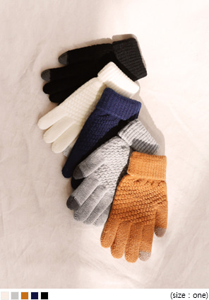 [ACC] WAFFLE SMART TOUCH GLOVE
