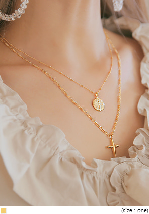 [JEWELRY] COAS GOLD NECKLACE - 2 TYPE