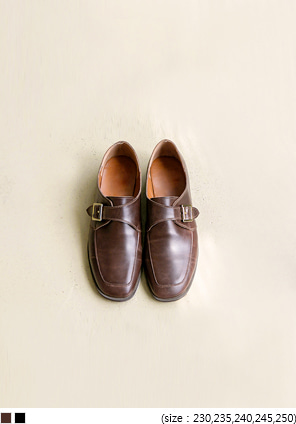 [SHOES] BUCKLE POINT CLASSCIC LOAFER