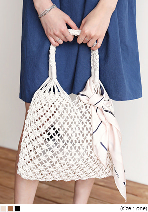 [BAG] NET SHOULDER BAG
