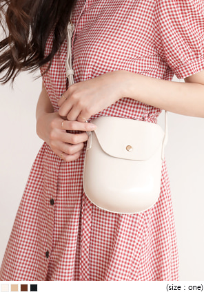 [BAG] BEAN BREAD MINI LEATHER BAG