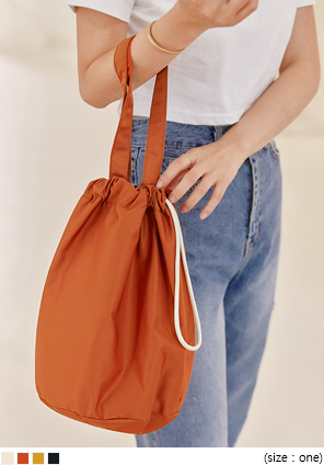 [BAG] ALOSE STRING BUCKET BAG