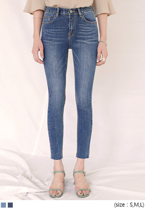 [BOTTOM] ULTRA SLIM TENSION DENIM SKINNY