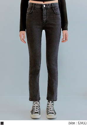 [BOTTOM] MORAND STRAIGHT DENIM PANTS