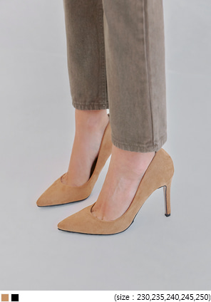 [SHOES] ALBANY SUEDE STILETTO HEEL