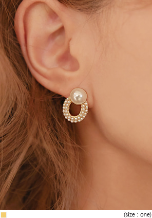 [JEWELRY] CERRITO PEARL BALL EARRING