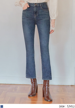[BOTTOM] MONC BOOTS CUT DENIM PANTS