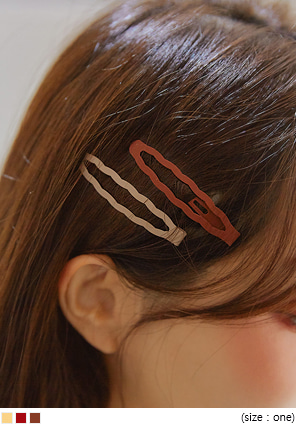 [ACC] BILLOW COLOR WAVE HAIR PIN