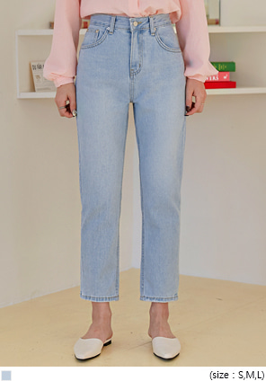 [BOTTOM] REX SEMI BAGGY DENIM PANTS