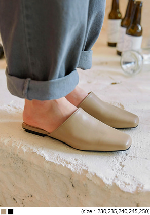 [SHOES] DROME SQUARE LEATHER BLOAFER