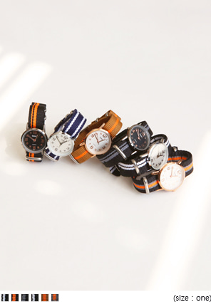 [ACC] FABRIC BAND WATCH - 2 TYPE