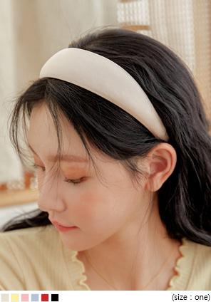 [ACC] POP COLOR SATIN HAIR BAND