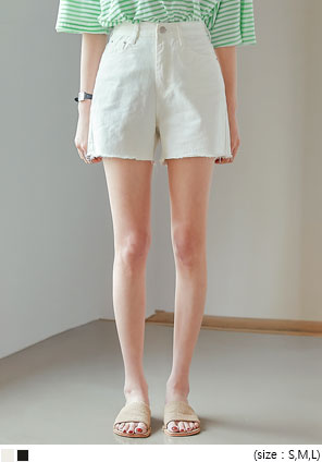 [BOTTOM] CAME CUTTING COTTON SHORTS