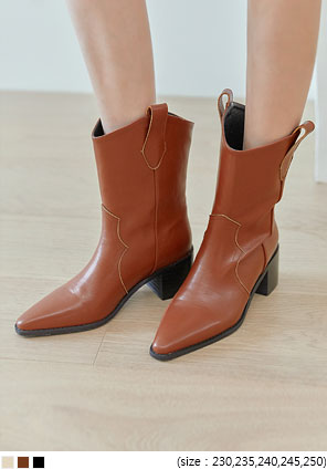 [SHOES] GERARD WESTERN BOOTS