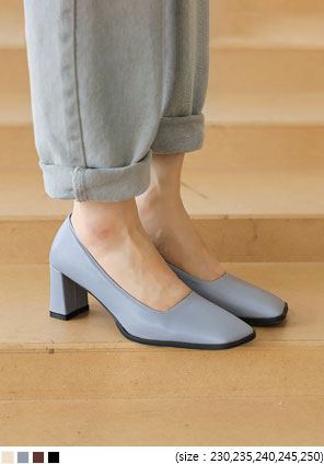 [SHOES] MARIS UNBAL SQUARE HEEL
