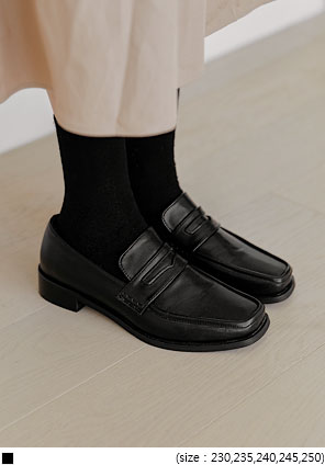 [SHOES] ATTOZ SQUARE PENNY LOAFER